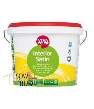 Краска шелковисто-матовая Vivacolor Interior Satin С 2,7 л